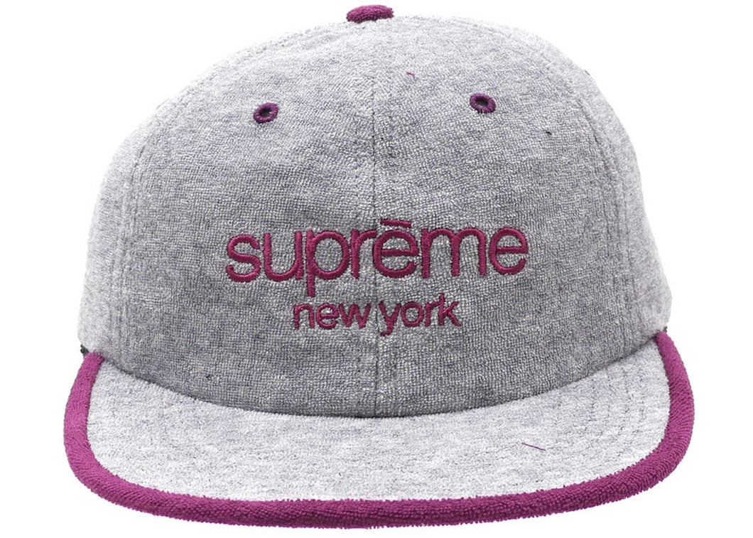 Supreme Terry Classic Logo 6 Panel