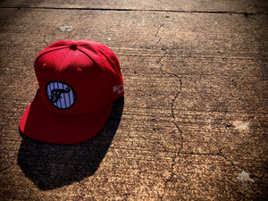 "Faek ""Been Real 'F' Patch Snapback"" (Red)"