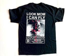 "Cactus Jack ""Look Mom I Can Fly Tee"" (Black)"