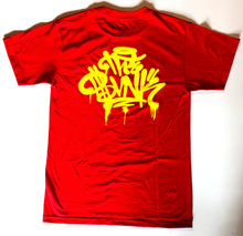 "The Bvnk ""Drip Tee"" (Red/Yellow)"