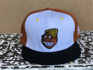 "Poly Love ""Aloha Menehune"" Snapback (Brown/Yellow)"