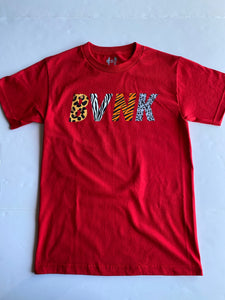 "The BVNK Tee ""AM Day"" (Red)"