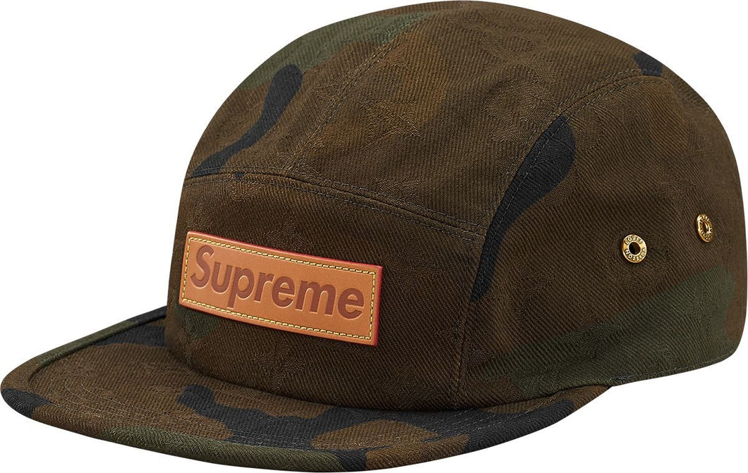 Louis Vuitton x Supreme 5 Panel Camo Hat