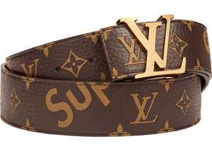 Louis Vuitton x Supreme Initiales Belt 40MM Monogram