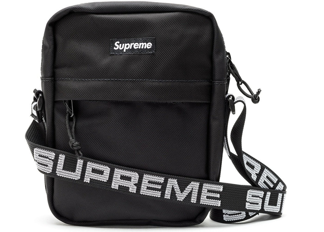 Supreme Shoulder Bag SS18 (Black) - Used