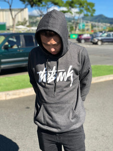 "The Bvnk ""Stussy Inspired Hoodie"" (Charcoal)"