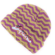 "Supreme ""Zig Zag Stripe Beanie"" (Purple)"