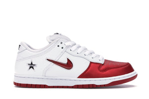 "Nike SB Dunk Low ""Supreme Jewel Swoosh Red"""