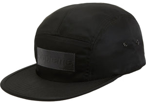 "Supreme ""Patent Leather Patch Camp Cap"" (Black)"