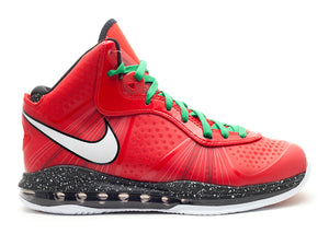 "Lebron 8 v/2 ""christmas"" - Used"