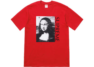 "Supreme ""Mona Lisa Tee"" (Red)"