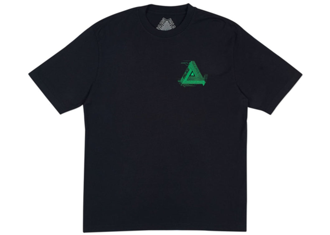 Palace Surkit T-Shirt Black/Green