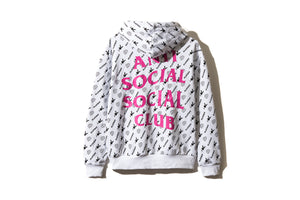 "Anti Social Social Club x Playboy ""All Over Print Hoodie"" (White)"