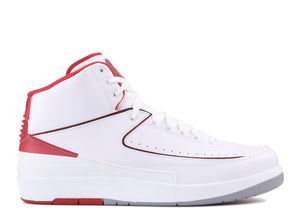 Air Jordan 2 Retro (White/Red 2014)