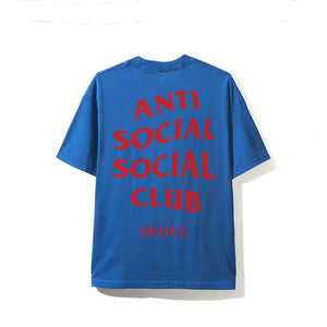 "Anti Social Social Club City Tee ""Seoul"" (Blue)"
