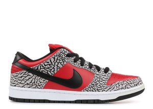 "Nike Dunk Low Supreme SB ""Red Cement"" - Used"