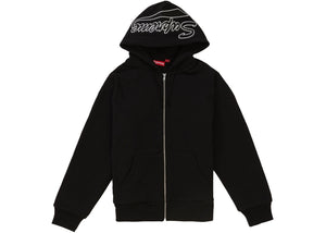 "Supreme ""Thermal Zip Up Sweatshirt"" (Black)"