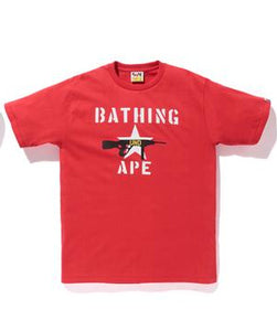 "Undefeated x Bape Tee ""Red"""