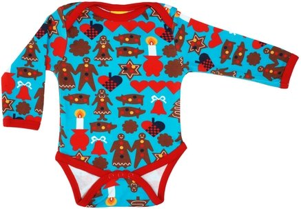 Duns Sweden Turquoise Gingerbread Man Body 86