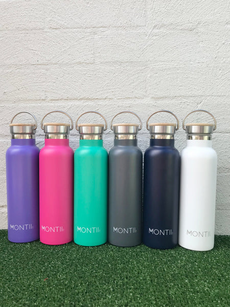 Montii 600ml reusable insulated drinks bottle