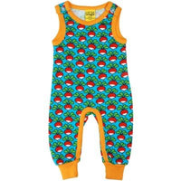 Duns Sweden Turquoise Radish Dungarees