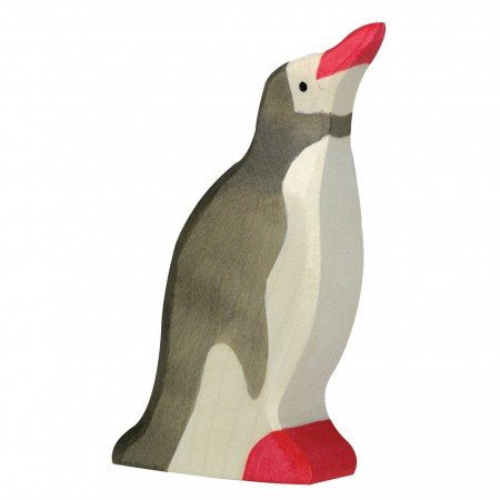 Holztiger Head Raised Penguin