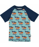 Maxomorra SS t-shirt a-line and slim all prints