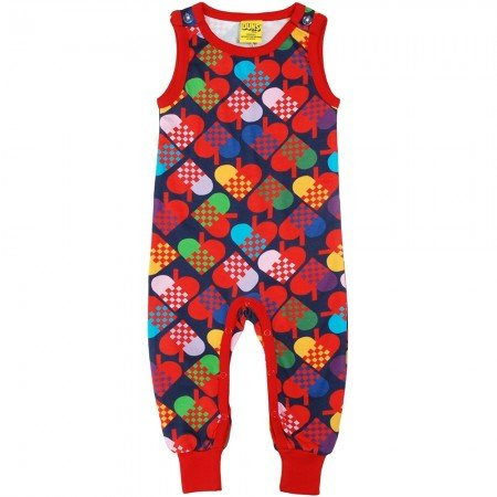 Duns Sweden Blue Hearts Dungarees