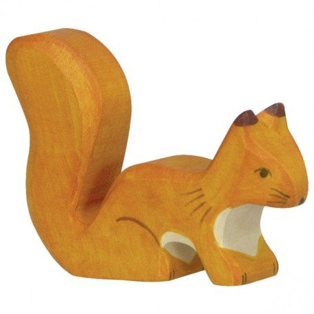 Holztiger Orange Standing Squirrel