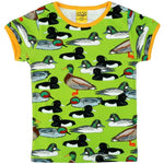 Duns Green Duck Short Sleeve Top 122