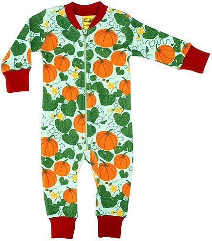 Duns Sweden Pumpkin Jade Zipped Suit