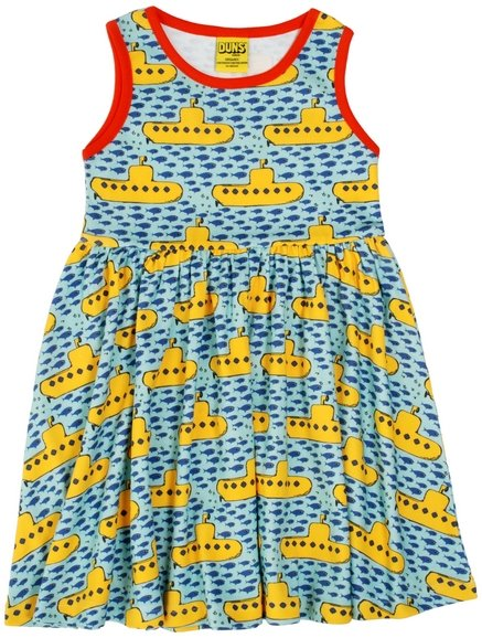 Duns Sweden SS19 Submarines Sleeveless Gather Dress