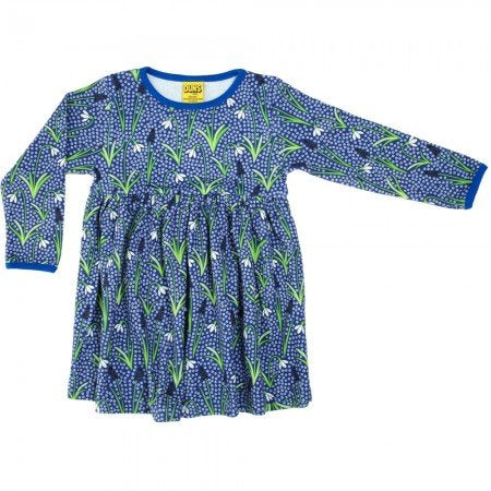 Duns Sweden Blue Snowdrop Gather Dress Adults