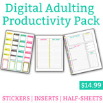 Adulting Productivity Pack