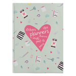 Planner Lover Hardcover Journal - Mint Green
