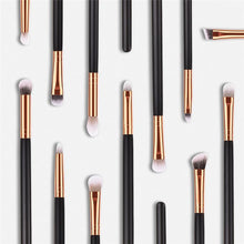 Load image into Gallery viewer, 12 Pcs Professional Cosmetic Eyes Makeup Brush Set, beauty - MySiliconDreams