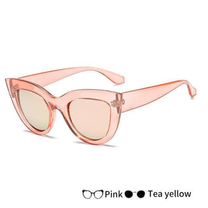 Classic Retro Cat Eye Designer Sunglasses, Sunglasses - MySiliconDreams