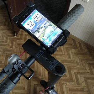 Electric Bike & Scooter Adjustable Anti-Slip Mobile Phone Holder, Mobility - MySiliconDreams