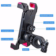 Load image into Gallery viewer, Electric Bike & Scooter Adjustable Anti-Slip Mobile Phone Holder, Mobility - MySiliconDreams
