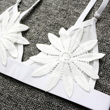 Load image into Gallery viewer, Embroidered Flower Brazilian Bikini, swimwear - MySiliconDreams