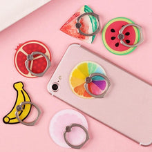 Load image into Gallery viewer, Fresh and Fruity Phone Holder, Smartphone Accessory - MySiliconDreams