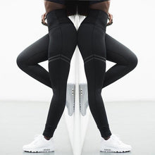 Load image into Gallery viewer, High Elastic Sport & Fitness Leggings, Sportswear - MySiliconDreams