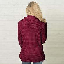 Load image into Gallery viewer, Knit Wrap Sweater, sweater - MySiliconDreams