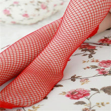 Load image into Gallery viewer, Ladies Lace Fishnet Thigh High Stockings, lingerie - MySiliconDreams