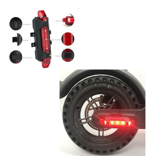LED Night Safety Flash/Light Xiaomi M365 Electric Scooter, Electro Mobility Accessory - MySiliconDreams