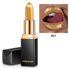 Load image into Gallery viewer, Lush Metallic Lipstick, Makeup - MySiliconDreams