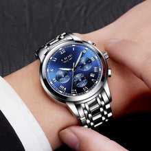Load image into Gallery viewer, Luxury Men's Stainless Steel Quartz Sports Watch, Watch - MySiliconDreams