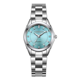 Luxury Stainless Steel Quartz Watch, Watch Accessory - MySiliconDreams