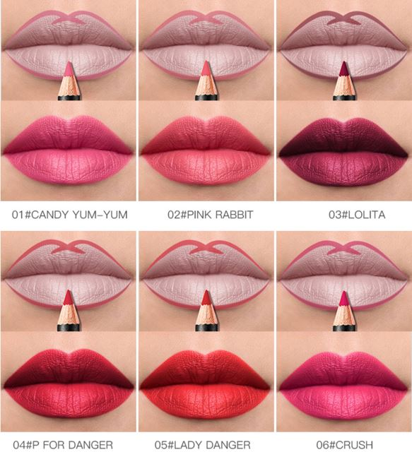 Matte Lip Pencil, Lip Pencil - MySiliconDreams