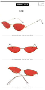Metal Frame Retro Designer Cat Eye Sunglasses, Sunglasses - MySiliconDreams